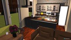 Raumgestaltung dining-living in der Kategorie Esszimmer