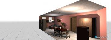 Raumgestaltung dnevna i trpezarija in der Kategorie Esszimmer