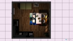 Raumgestaltung Dnevna in der Kategorie Esszimmer