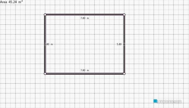Raumgestaltung draft in der Kategorie Esszimmer