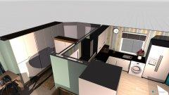 Raumgestaltung EG- ESSKÜCHEBÜRO in der Kategorie Esszimmer