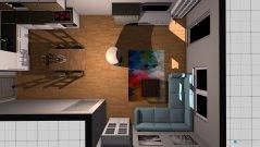 Raumgestaltung Erdgeschoss 2 in der Kategorie Esszimmer