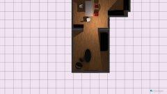 Raumgestaltung Erdgeschoss in der Kategorie Esszimmer