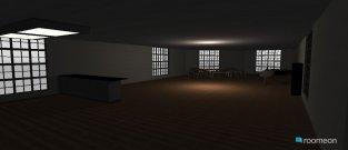 Raumgestaltung erste Küche und Esszimmer in der Kategorie Esszimmer