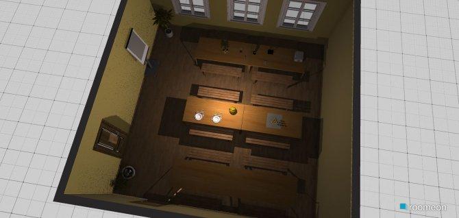 Raumgestaltung ess- und bastelzimmer in der Kategorie Esszimmer
