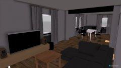 Raumgestaltung Ess+Wohnzimmer in der Kategorie Esszimmer