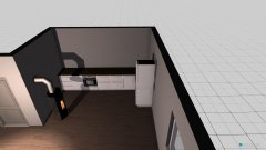 Raumgestaltung Ess-Wohnzimmer in der Kategorie Esszimmer