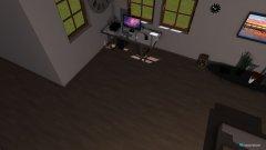 Raumgestaltung Ess - Wohnzimmer in der Kategorie Esszimmer