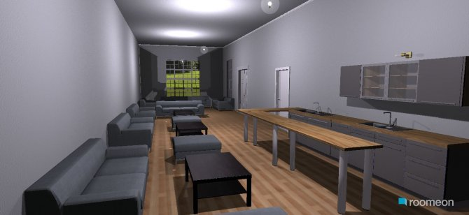 Raumgestaltung Essbereeich eins in der Kategorie Esszimmer
