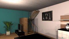 Raumgestaltung Essbereich in der Kategorie Esszimmer