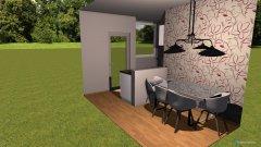 Raumgestaltung essküche in der Kategorie Esszimmer