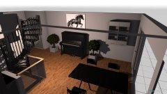 Raumgestaltung Esszimer  Küche in der Kategorie Esszimmer