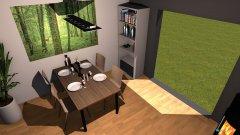 Raumgestaltung Esszimmer 1 in der Kategorie Esszimmer