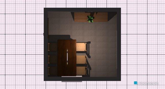 Raumgestaltung Esszimmer 3 in der Kategorie Esszimmer