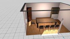 Raumgestaltung Esszimmer-A2 in der Kategorie Esszimmer