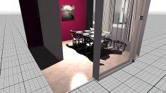 Raumgestaltung esszimmer und abstellraum in der Kategorie Esszimmer