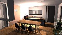 Raumgestaltung Esszimmer und Küche in der Kategorie Esszimmer