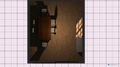Raumgestaltung Eßzimmer in der Kategorie Esszimmer