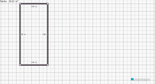 Raumgestaltung EsszimmerKüche in der Kategorie Esszimmer