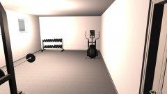 Raumgestaltung Fitnessraum in der Kategorie Esszimmer