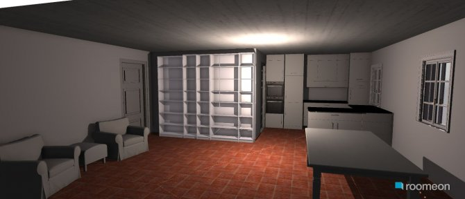 Raumgestaltung Fliesen in der Kategorie Esszimmer