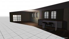 Raumgestaltung floating bridge house in der Kategorie Esszimmer