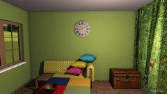 Raumgestaltung forest room in der Kategorie Esszimmer