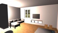 Raumgestaltung grundriss groß in der Kategorie Esszimmer