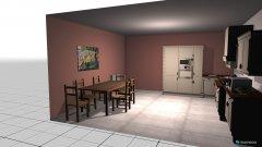 Raumgestaltung Grundrissvorlage Quadrat 6 in der Kategorie Esszimmer