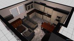 Raumgestaltung Haldenweg 14 Wohnzimmer landhaus in der Kategorie Esszimmer