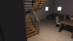 Raumgestaltung Haus 18 - Wohnzimmer&Esszimmer in der Kategorie Esszimmer
