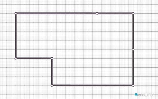 Raumgestaltung Haus 1 in der Kategorie Esszimmer