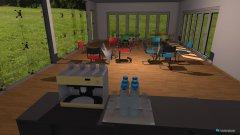 Raumgestaltung JET Cafe in der Kategorie Esszimmer