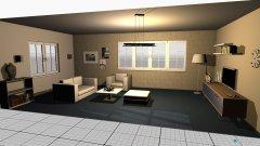 Raumgestaltung kék nappali in der Kategorie Esszimmer