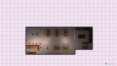 Raumgestaltung Kantine2 in der Kategorie Esszimmer