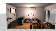 Raumgestaltung Kape Mini in der Kategorie Esszimmer