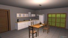 Raumgestaltung kitchen2 in der Kategorie Esszimmer