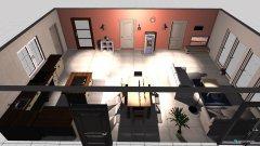 Raumgestaltung Kluczewo in der Kategorie Esszimmer
