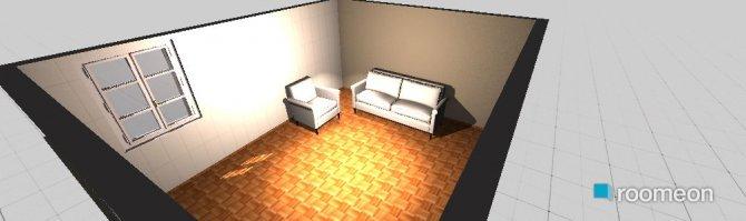 Raumgestaltung Konstantinovska 10 dining room (only sofa) in der Kategorie Esszimmer