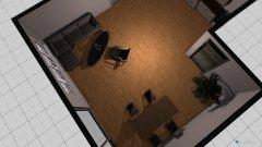 Raumgestaltung Kuche Wohnzimmer in der Kategorie Esszimmer