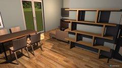 Raumgestaltung Kuchnia z aneksem in der Kategorie Esszimmer