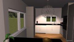 Raumgestaltung Küche, Essen, Wohnen in der Kategorie Esszimmer