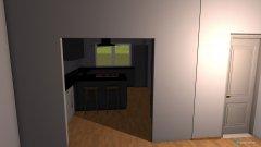Raumgestaltung küche esszimmer wohnzimmer in der Kategorie Esszimmer