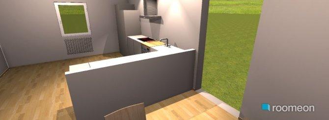 Raumgestaltung Küche   Esszimmer in der Kategorie Esszimmer