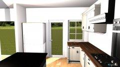 Raumgestaltung Küche + Esszimmer in der Kategorie Esszimmer