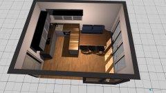 Raumgestaltung Küche und Esszimmer Entwurf 1 in der Kategorie Esszimmer