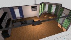 Raumgestaltung Kueche_fuer_Vorhänge in der Kategorie Esszimmer