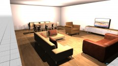 Raumgestaltung Leefarea 1 in der Kategorie Esszimmer