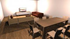 Raumgestaltung Leefarea 2 in der Kategorie Esszimmer