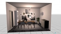 Raumgestaltung Leni Esszimmer in der Kategorie Esszimmer